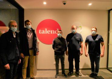 Les membres de STORI Protection chez Talend